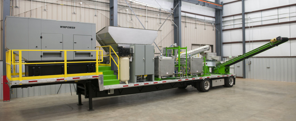 Dustech's Mobile Testing Unit for Dust Control Testing